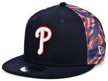 Philadelphia Phillies Flag Mesh Back 9FIFTY Cap New Era