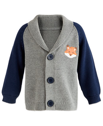 Baby Boys Shawl-Collar Cardigan, Created for Macy's First Impressions