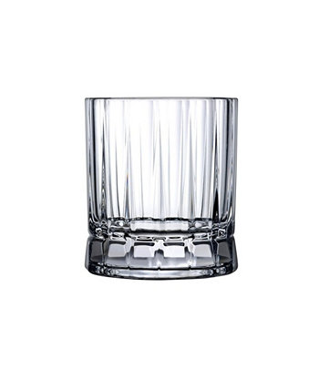 Wayne Whisky Glass, Set of 4 Nude Glass