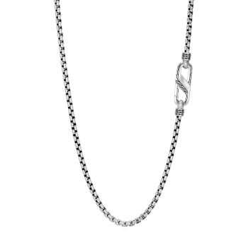 Classic Chain Box Chain Sterling Silver Necklace JOHN HARDY
