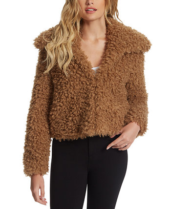 Sasha Faux-Fur Jacket Jessica Simpson