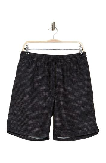 Barrel Printed Swim Trunks Z By Zella