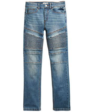Big Boys Chase Stretch Moto Jeans, созданные для Macy's Ring of Fire