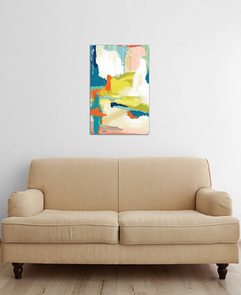 """Deconstructed Landscape II"" by Jan Weiss Gallery-Wrapped Canvas Print (26 x 18 x 0.75) ICanvas"