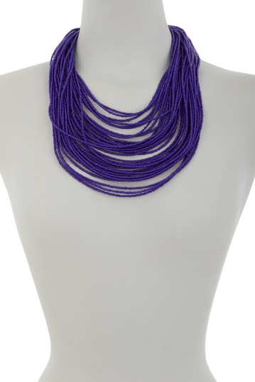 Sparkly Multi String Necklace Eye Candy Los Angeles