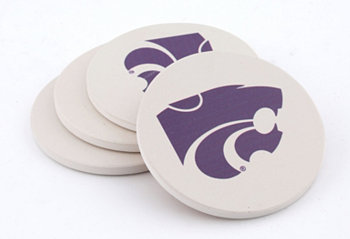 KSU Coasters, Set of 4 THIRSTYSTONE