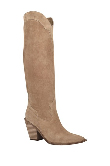 Ferry Square Toe Tall Boot Sigerson Morrison