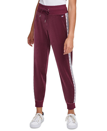 Colorblocked Pull-On Jogger Pants Tommy Hilfiger