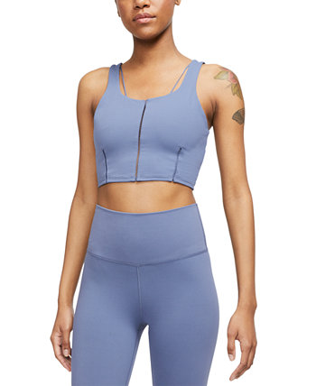 Women's Yoga Luxe Dri-FIT Strappy Cropped Tank Top Nike