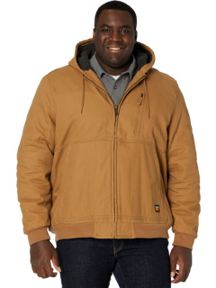 Extended Gritman Lined Canvas Hooded Jacket Timberland