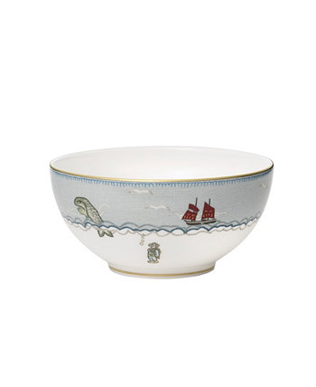"Sailors Farewell Soup/Cereal Bowl 6"" Wedgwood"