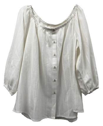 Petite Striped Top, Created for Macy's Style & Co
