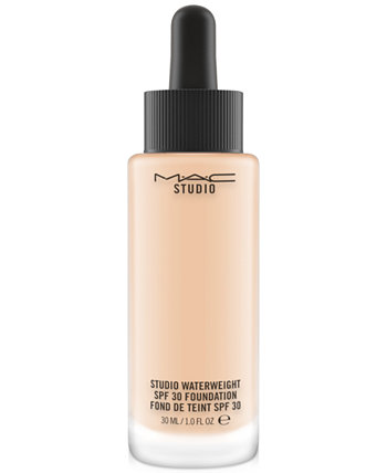 Студия Waterweight SPF 30 Foundation, 1 унция. MAC Cosmetics