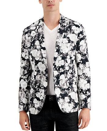 INC Men's Slim-Fit Floral Print Blazer, Created for Macy's INC International Concepts