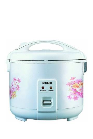 JNP-0720 4-Cup (Uncooked) Rice Cooker and Warmer, Floral TIGER