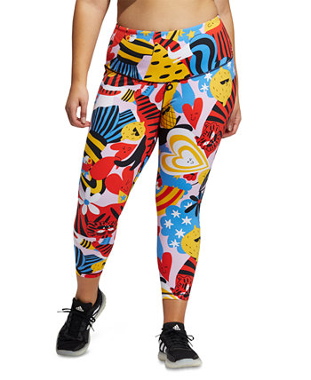 Plus Size Believe This Tights Adidas