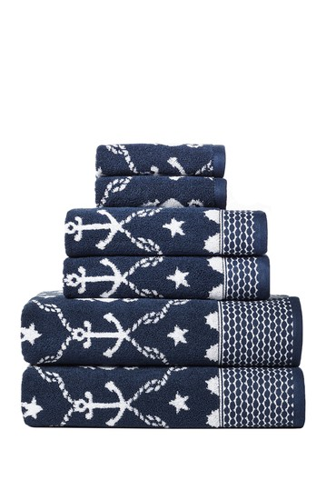Sealife 6-Piece Towel Set Vera Bradley
