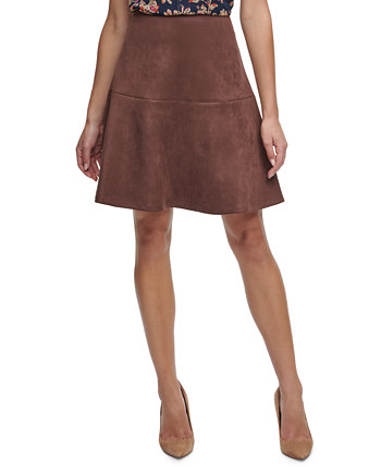 Faux-Suede Flared Skirt Tommy Hilfiger