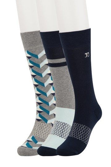Tron Geo Crew Socks - Pack of 3 Joe's Jeans