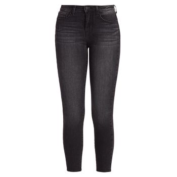 Margot High-Rise Ankle Skinny Jeans L'AGENCE