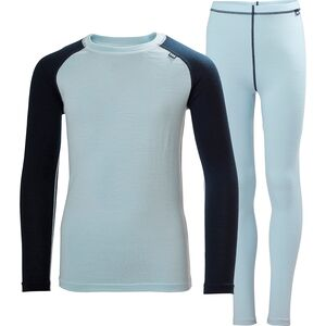 Helly Hansen Jr Merino Mid Baselayer Set Helly Hansen