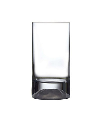 Club Ice High Ball Glass, Set of 4 Nude Glass
