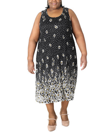 Plus Size Lace Midi Dress Robbie Bee