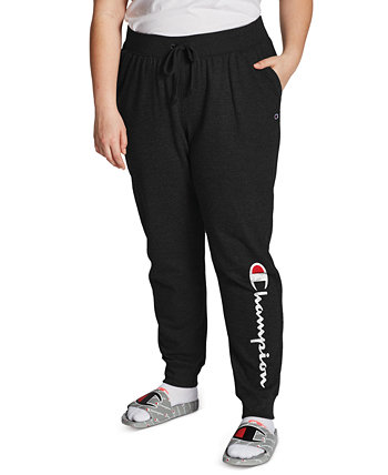 Plus Size Ribbed Joggers Champion