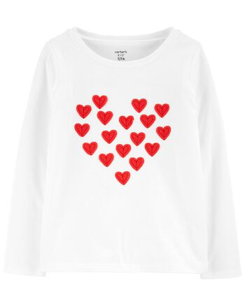 Carter's Valentine's Day Heart Tee Carters