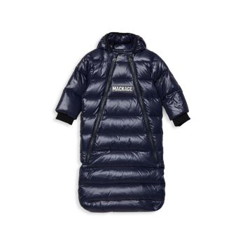 Baby Girl's Allie Down Bunting Quilted Snowsuit Mackage