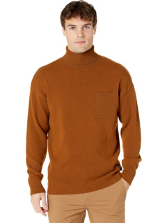Wool-Blend Turtleneck Pull with Chest Pocket Scotch & Soda