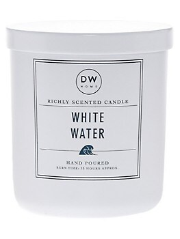 White Water Scented Candle Decorware