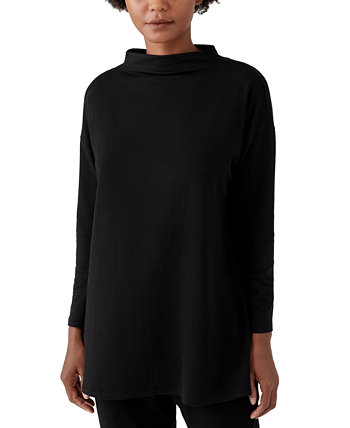 Funnel-Neck Tunic Eileen Fisher
