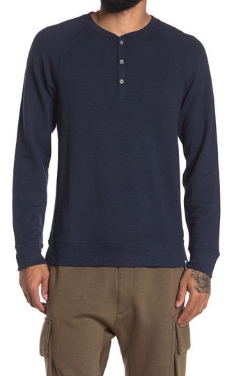 Sayers Knit Henley JASON SCOTT