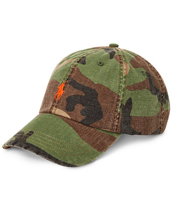 Мужская бейсболка Camo Canvas Ralph Lauren