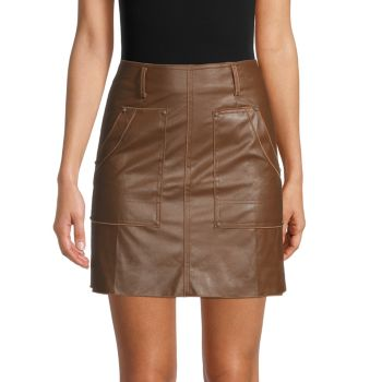 Faux Leather Skirt 70/21