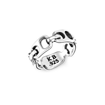 Small Pop Top Sterling Silver Infinity Band King Baby Studio