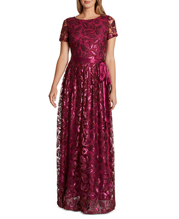 Floral Sequin Gown Tahari by ASL