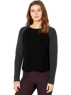 Petite Funnel Neck Box Top Eileen Fisher