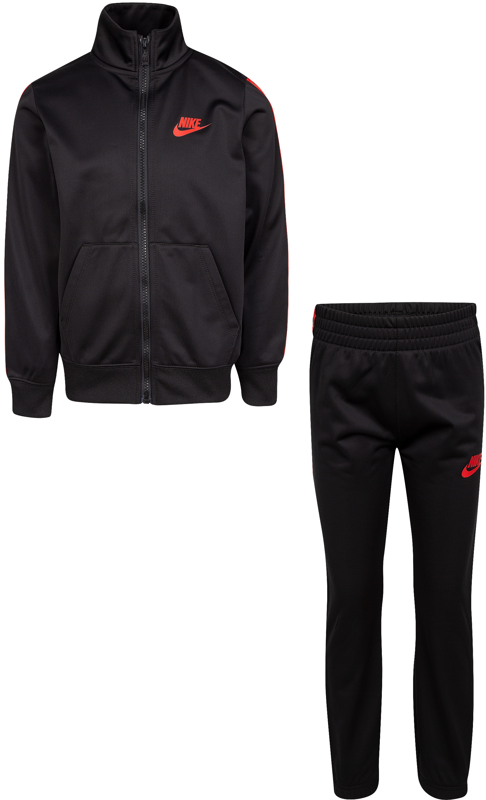 Logo Taping Jacket and Pants Two-Piece Track Set (Little Kids) Nike Kids
