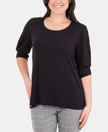 Pleated-Cuff Top NY Collection