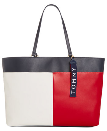 Isa Smooth Tote Tommy Hilfiger