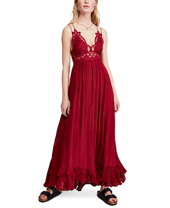 Adella Lace Maxi Dress Free People