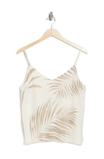 Easy Breezy Leaf Print Tank Top BB Dakota
