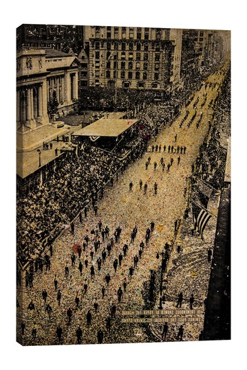 Fifth Avenue, 65,000 Marchers by DB Waterman No brands