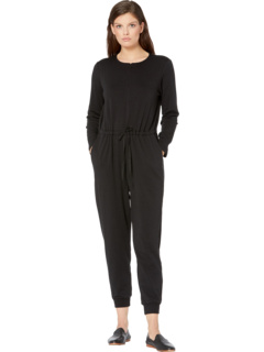 Round Neck Ankle Jumpsuit Eileen Fisher