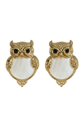 into the woods owl stud earrings Kate Spade New York