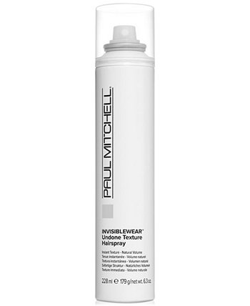 Invisiblewear Undone Texture Hairspray, 6.3-oz., from PUREBEAUTY Salon & Spa PAUL MITCHELL
