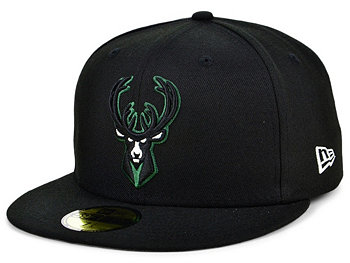 Milwaukee Bucks Court Banner 59FIFTY Cap New Era