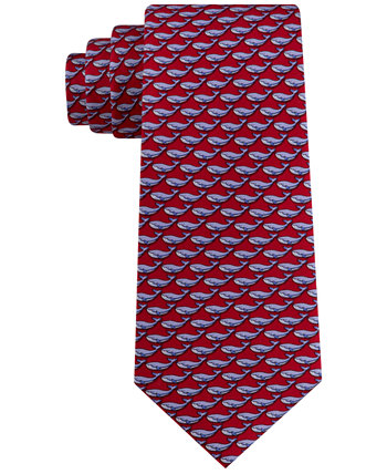 Men's Small Whale Tie Tommy Hilfiger